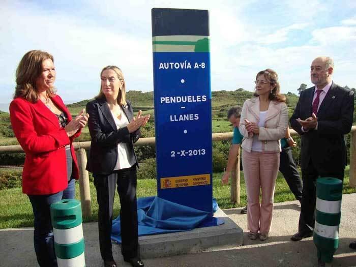 En octubre de 2013 se inauguraba el subtramo Pendueles-Llanes.