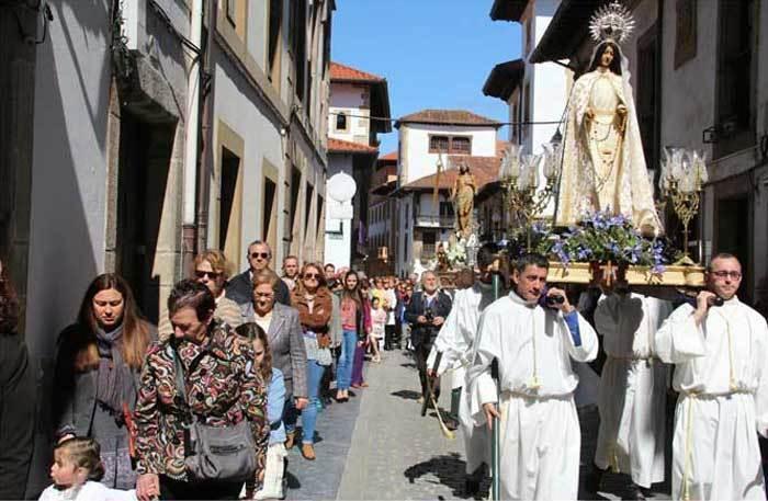 Semana Santa multitudinaria en La Villa