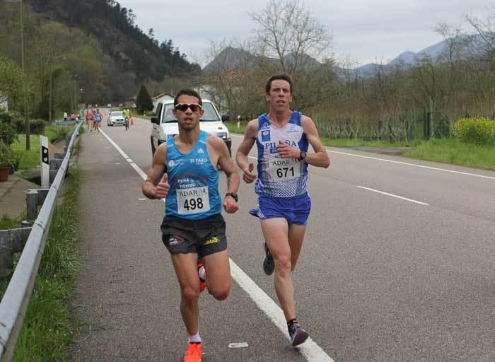 Victoria de Manuel Heras en la Media Maratón Ruta del Sella