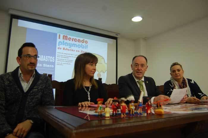 Siero acogerá los días 25 y 26 el Primer Mercado de Playmobil