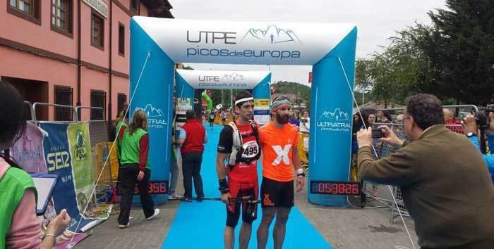 El cangués Víctor Fernández fue el segundo clasificado en la Ultra Trail Picos de Europa de 52 kilómetros