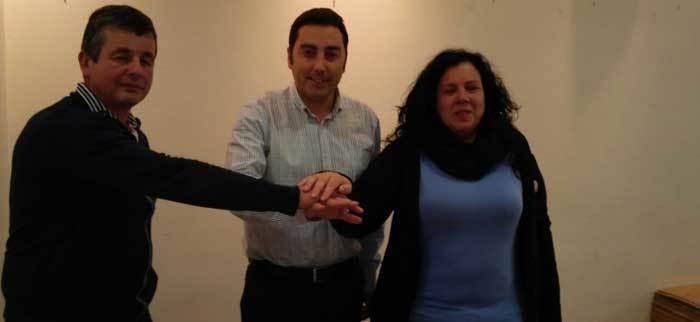 El socialista Gerardo Sanz será el nuevo alcalde de Llanera tras el acuerdo firmado por el PSOE, Izquierda Unida y Somos