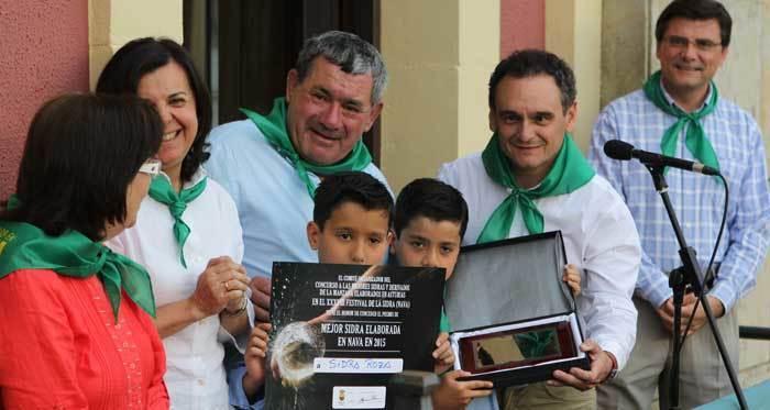 La Mejor Sidra de Asturias 2015 es la de Roza, de Nava