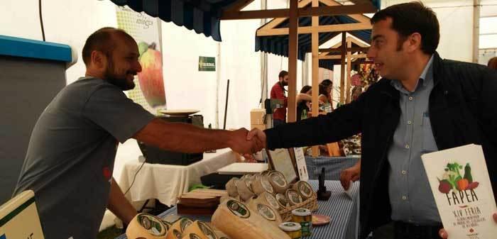Gerardo Sanz inauguró hoy la Feria Ecológica FAPEA