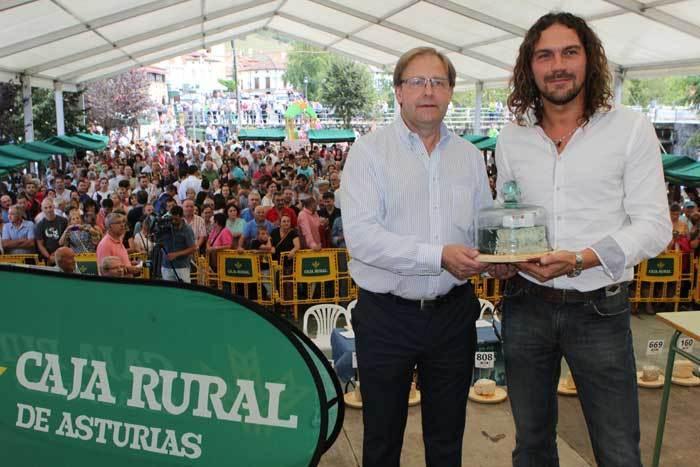 3.100 euros por el mejor Cabrales del mundo que se va a Madrid