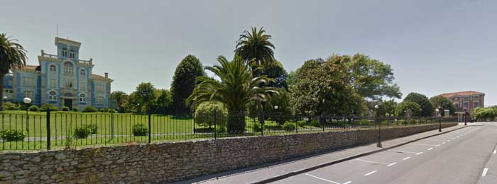 Vista de Colombres. Foto google maps.