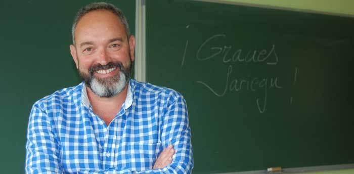 José Luis Chillón se despidió de Sariego.