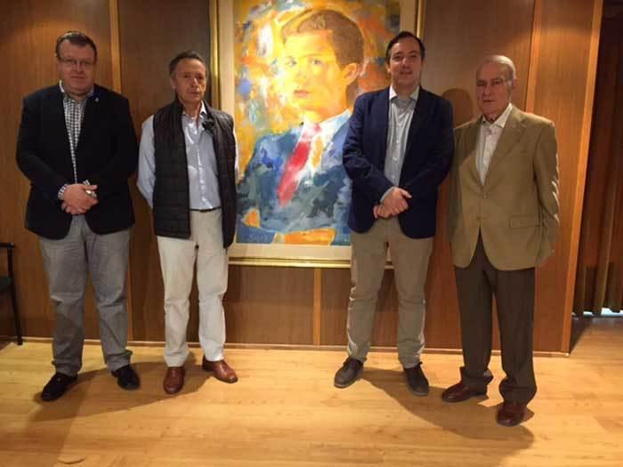 Presentación en Madrid.