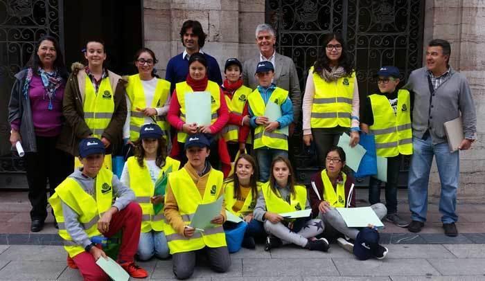 Campaña para fomentar el reciclaje en Llanes