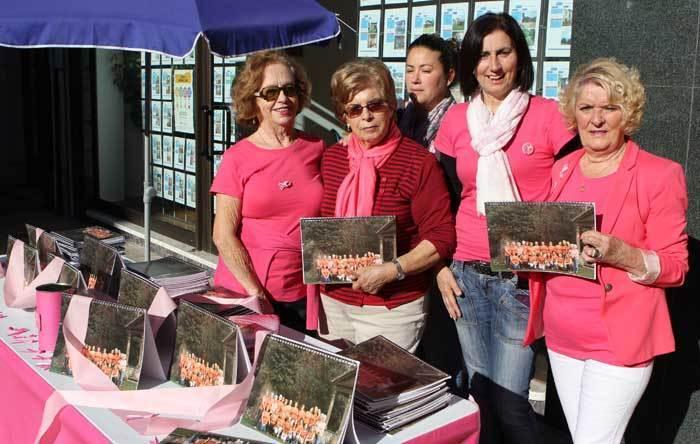 Calendarios en pos de la lucha contra el cáncer