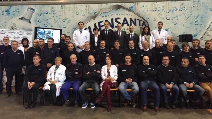 Hoy se firmó la inversión de 4 millones de euros para la planta de Aguas de Fuensanta