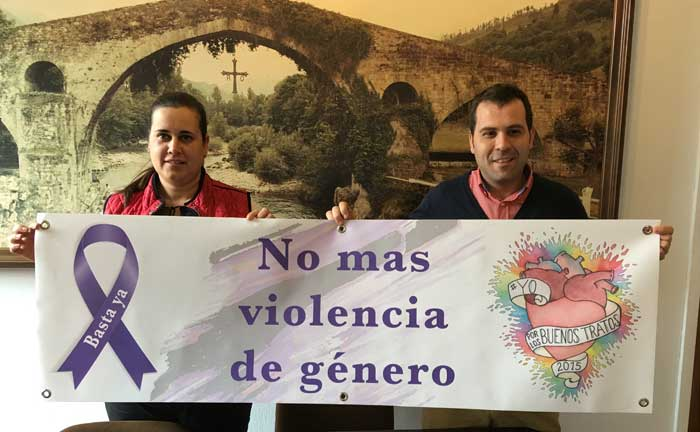 El miércoles a las cinco y media de la tarde, concentración en Cangas de Onís contra la violencia de género