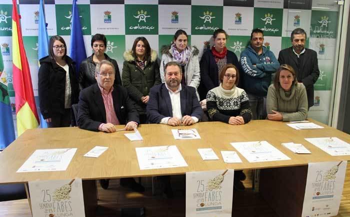 La Semana de Les Fabes se presentó en Colunga.