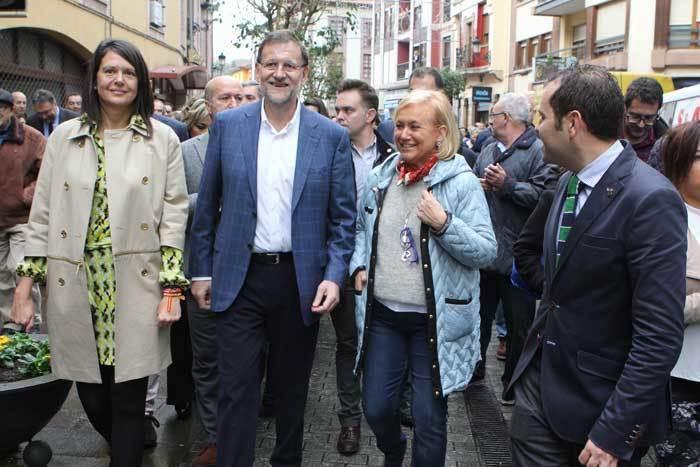 FOTOGALERÍA de la visita de Mariano Rajoy a Cangas de Onís