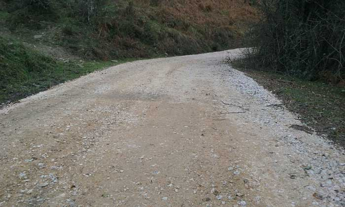 El Principado repara la pista del monte Peloñu, en Ponga