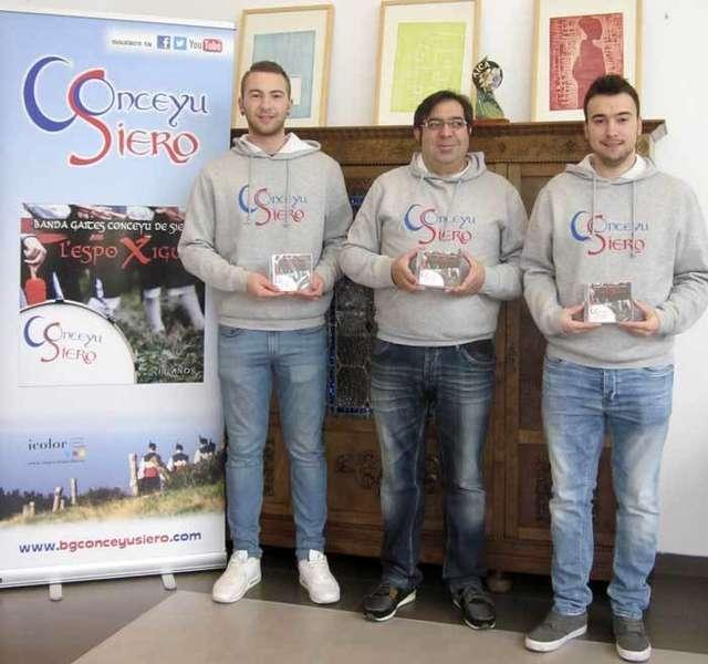 La Banda de Gaitas Conceyu de Siero presenta el sábado 9 su primer disco