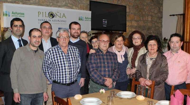 """Recuerdo a Alfonso """"El de la Pérgola"""" en la presentación de las XXVIII Jornadas Gastronómicas de la Caza de Piloña"""