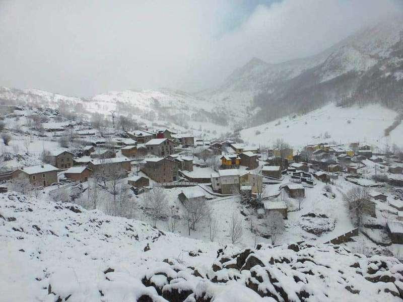 A las 12 de la noche se activará la alerta roja por nevadas en Asturias