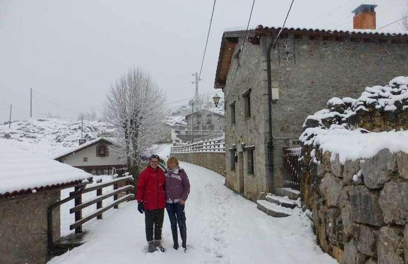 Imágenes de los efectos del temporal en el Oriente de Asturias