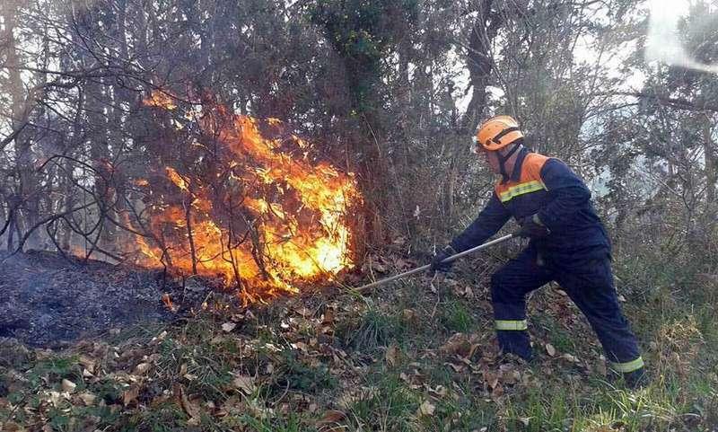 Detenidas dos personas e investigadas otras doce por la ola de incendios forestales