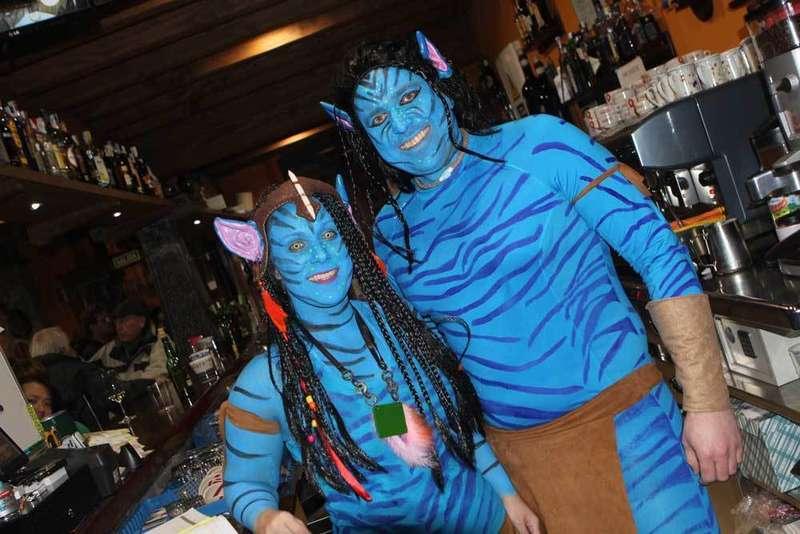 La lluvia no consiguió ahogar el Carnaval de Cangas de Onís