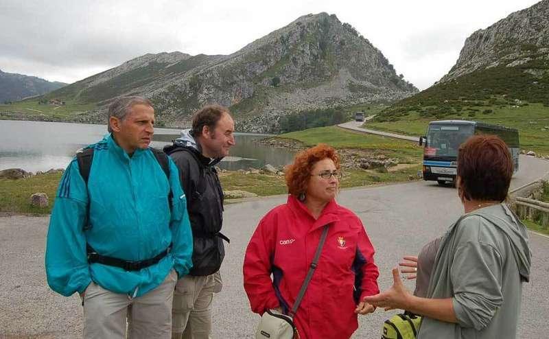 El Jueves Santo se activará el Plan de Transporte Público a Los Lagos de Covadonga