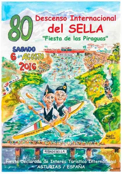 El Cartel del 80º Descenso Internacional del Sella