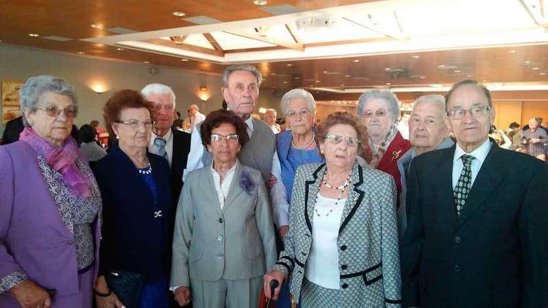 Homenajes en la fiesta del socio del Hogar de Jubilados de El Berrón