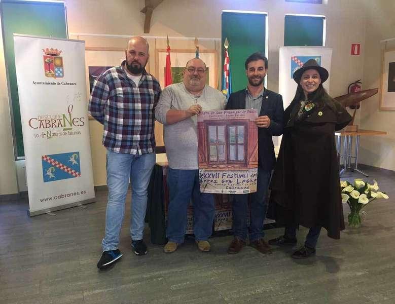 Iván Riego, Laureano Corrales, Gerardo Fabián y Paula Rodríguez.