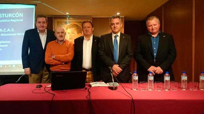 Escobio, Álvaro, Villar Pis, Martínez Otero y Roza.