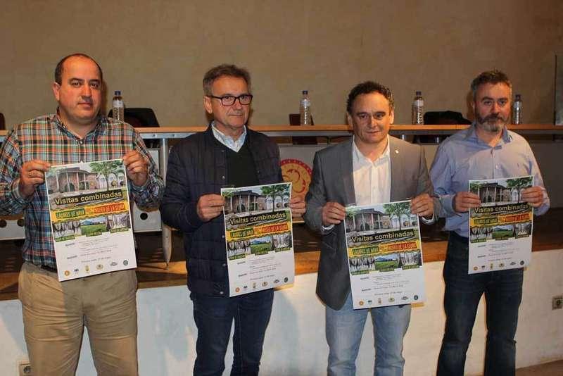 Fernando Morán, José Vigón, Juan Cañal y Fran Ordóñez.