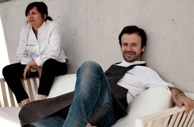 Nacho y Esther Manzano.