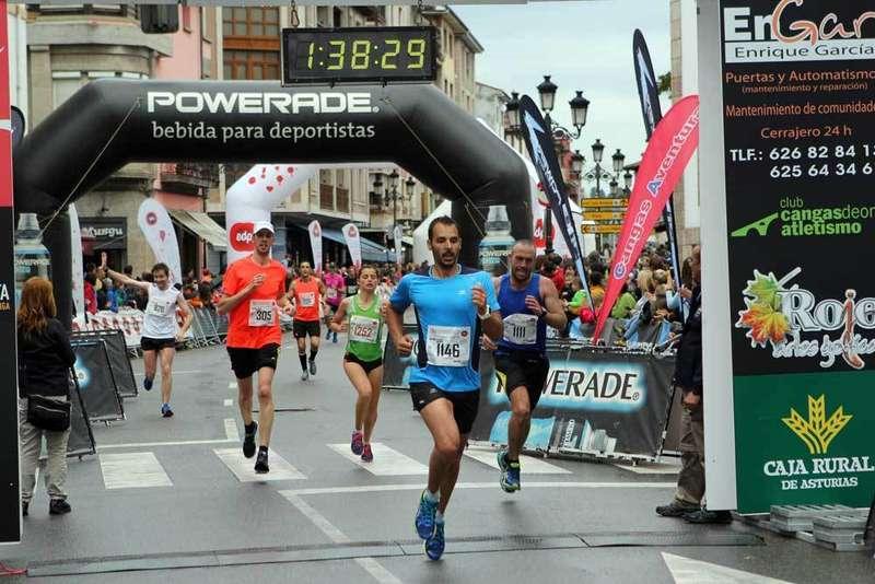 FOTOGALERÍA de la meta de la Media Maratón Ruta de la Reconquista