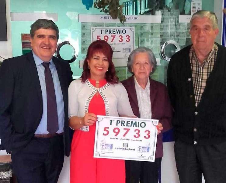 Javier Mori, Conchita Trivín, Pepita G. e Ismael M.