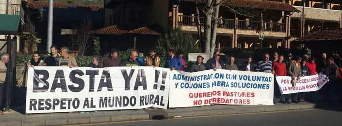 Manifestación de Agricultores y Ganaderos en Oviedo