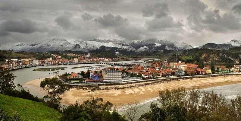 Vista de la playa de Santa Marina.