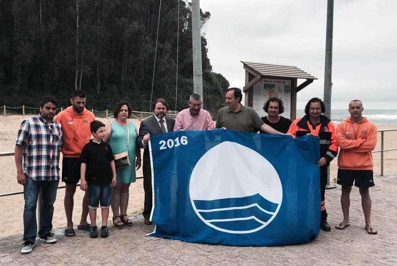 La Bandera Azul de La Ñora.