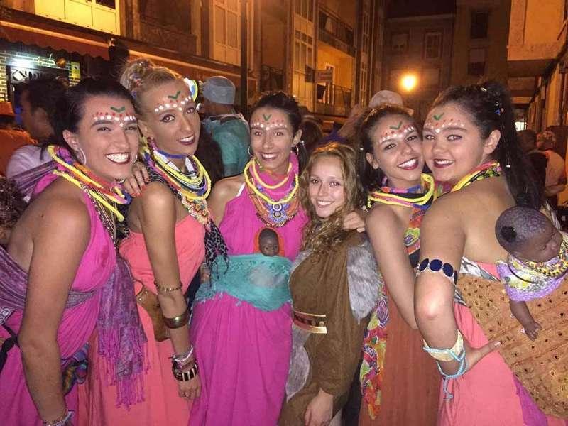 Carnaval veraniego en Cangas de Onís