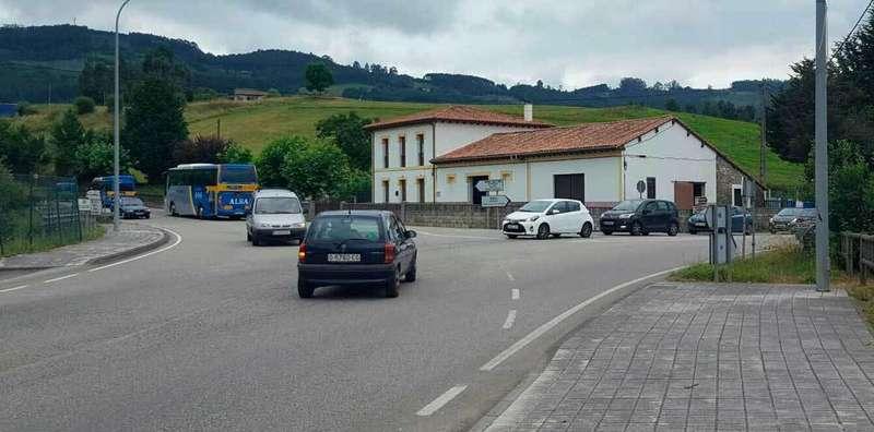 Circunvalación en Lastres y rotondas en Villaviciosa
