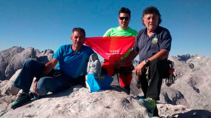 Bernabé Aguirre ha subido 600 veces al Urriellu