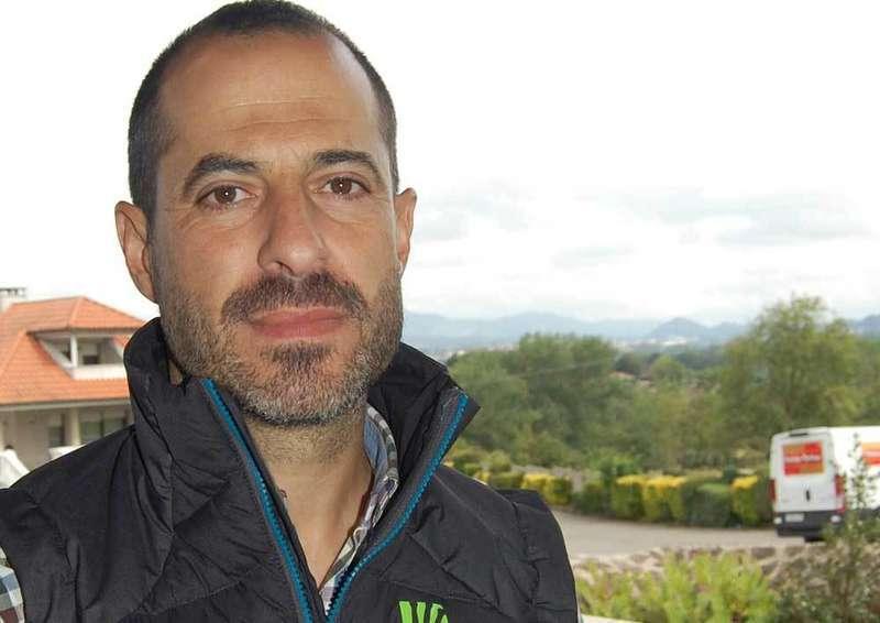 Ángel García, alcalde de Siero.