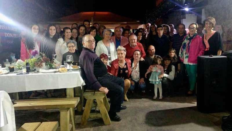 Foto de familia la Peña Don Pelayo.