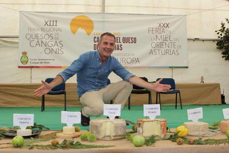 3.100 euros por los mejores quesos del Certamen de Cangas de Onís