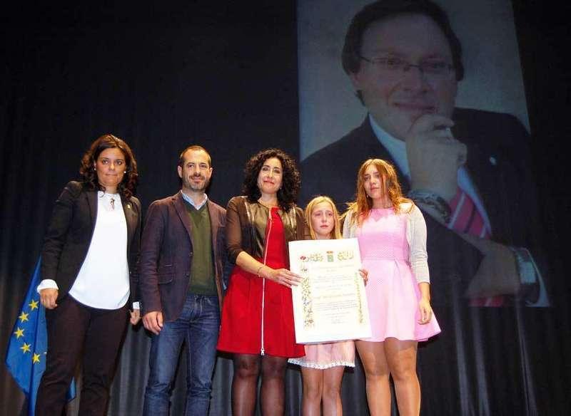 Sencillo y emotivo nombramiento de José Aurelio Álvarez como Hijo Predilecto de Siero a título póstumo