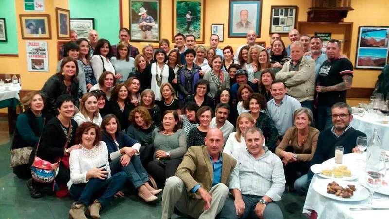 Foto del encuentro celebrado en Infiesto.