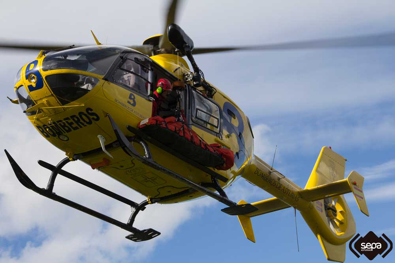 Rescatada una mujer de 73 años en los Picos de Europa