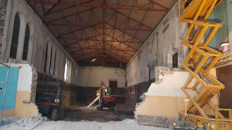 En marcha las obras de reforma del Ateneo de La Villa
