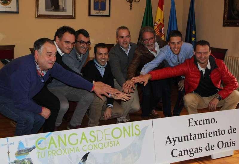 Presentación de la Clásica Lagos de Covadonga en Cangas de Onís