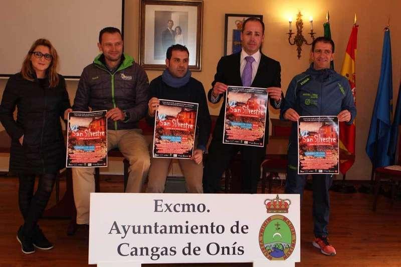 Presentación de la San Silvestre de Cangas de Onís.
