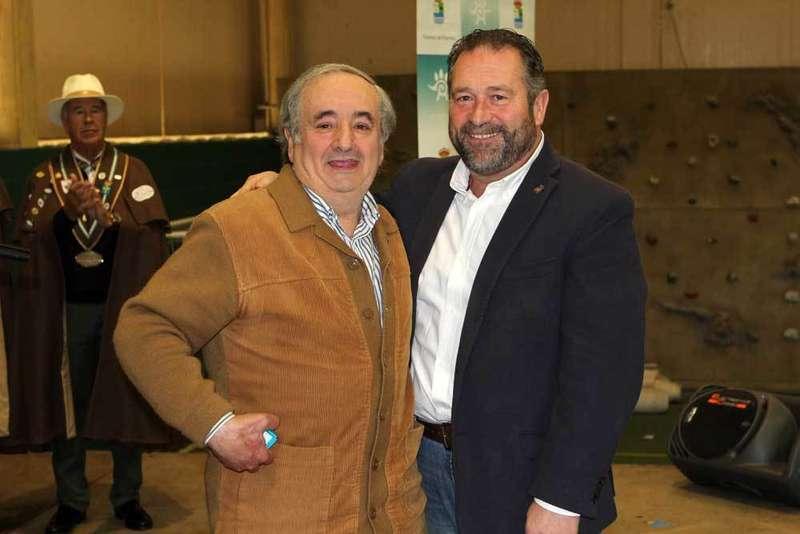 Borja Márquez (i.) y Rogelio Pando.